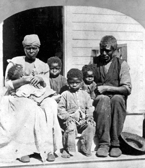 Unidentified African American Family Portrait